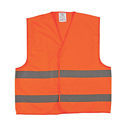 Portwest Orange Hi-Vis waistcoat Large/Extra Large