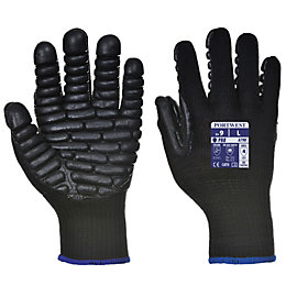 Portwest Anti Vibration Gloves, Large, Pair