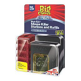 The Big Cheese Ultra Power Trap Bait Mouse