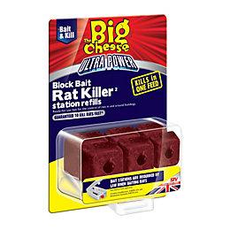 The Big Cheese Ultra power Block bait refills