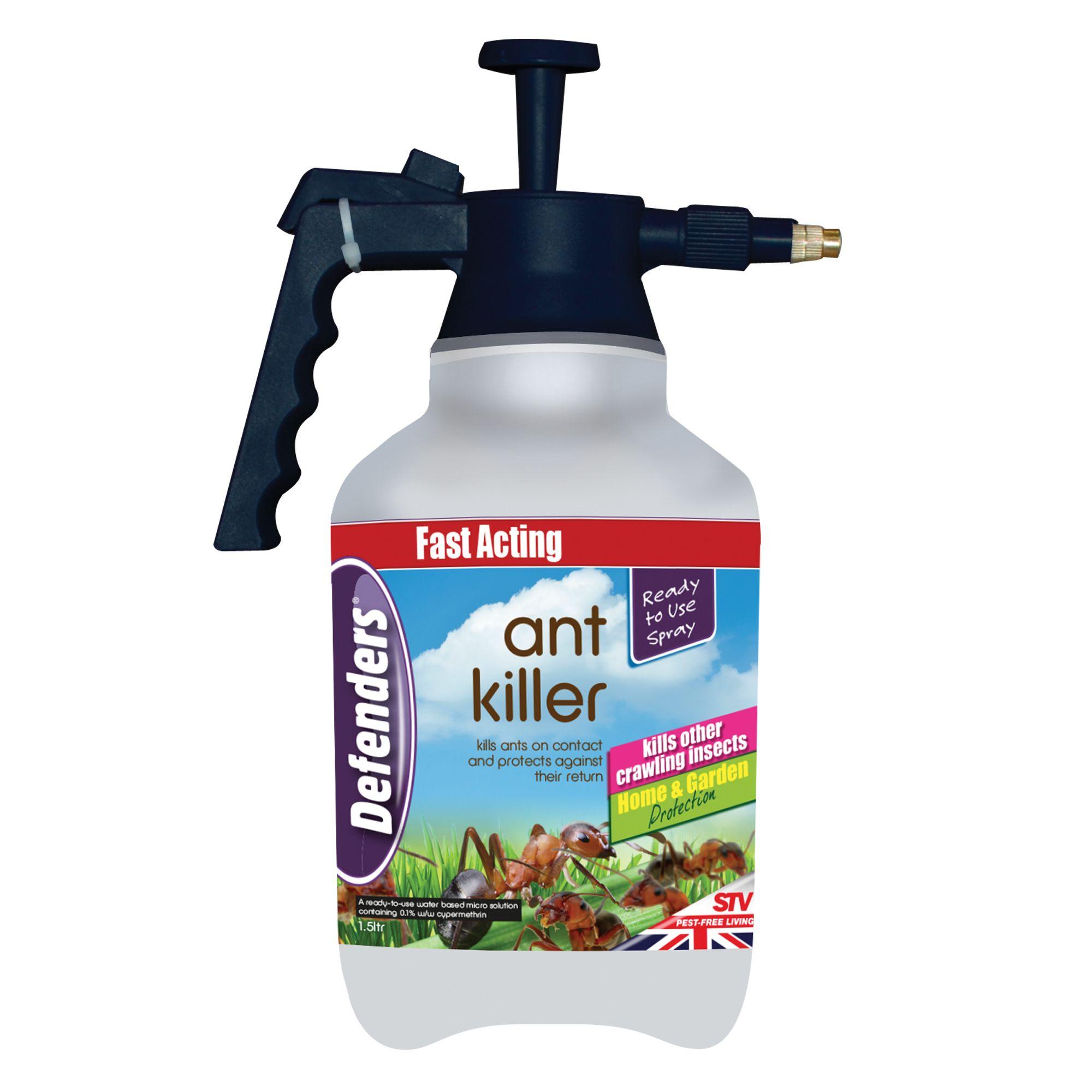 Defenders Ant Killer Insect Spray 1 5l 1812g Departments Diy At B Q