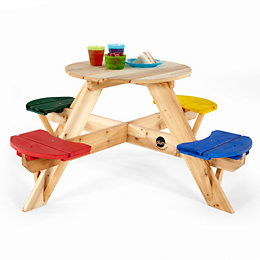 Plum Outdoor Picnic Table