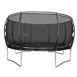 Plum Magnitude Black 12 ft Trampoline & Enclosure