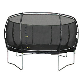 Plum Magnitude Black 14 ft Trampoline & Enclosure