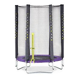 Plum Junior Stardust 4.5 ft Trampoline & Enclosure