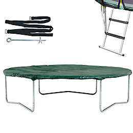 Plum Black & Green 8 ft Trampoline Accessory