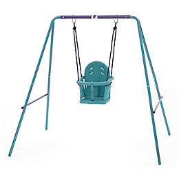 Plum Outdoor Metal 2 in 1 swing set