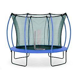 Plum Colours Blue & Lime 10ft Trampoline &
