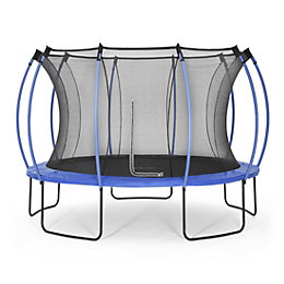 Plum Colours Blue & Lime 12ft Trampoline &
