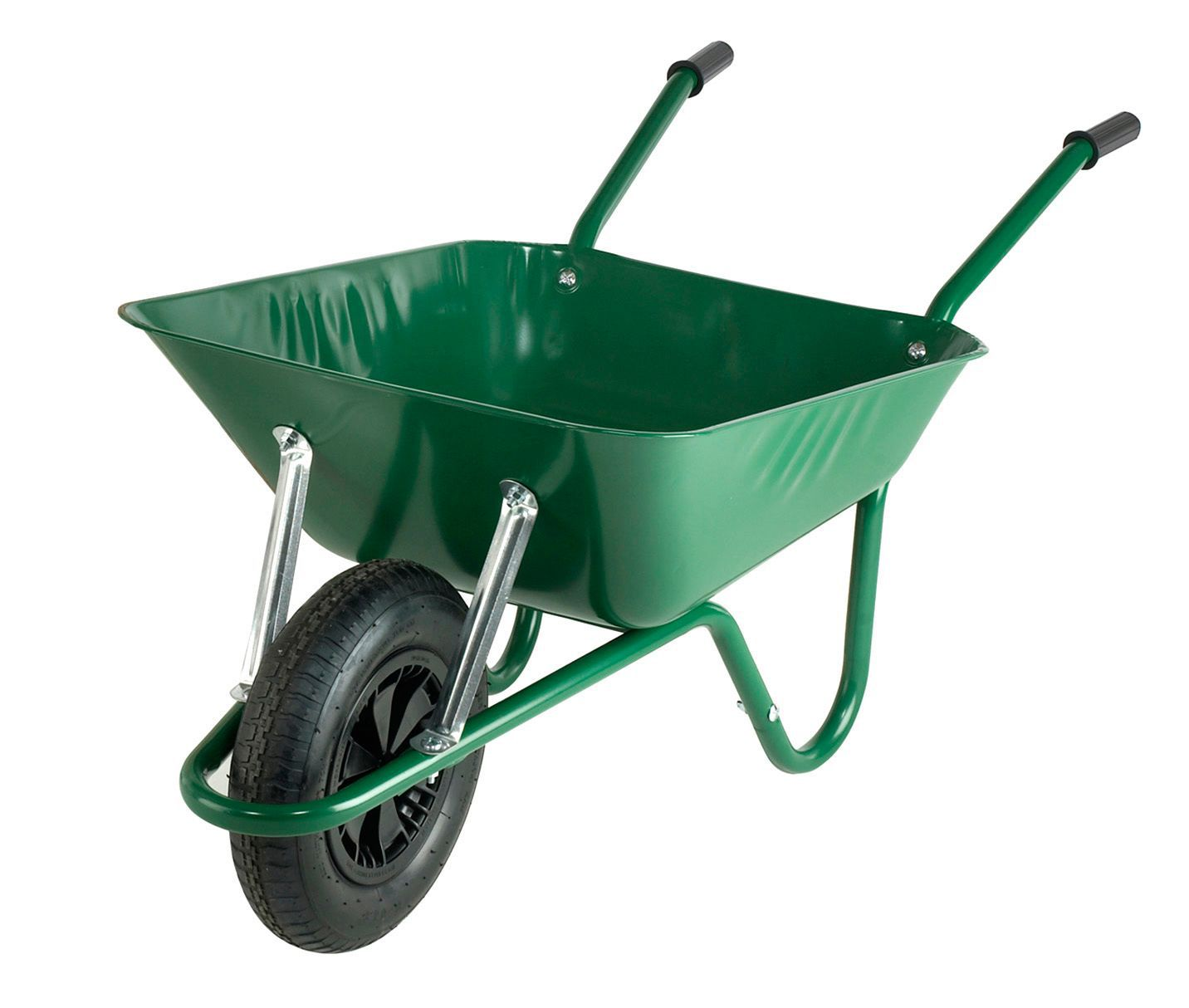 Walsall Black Amp Green 85l Wheelbarrow Departments Diy