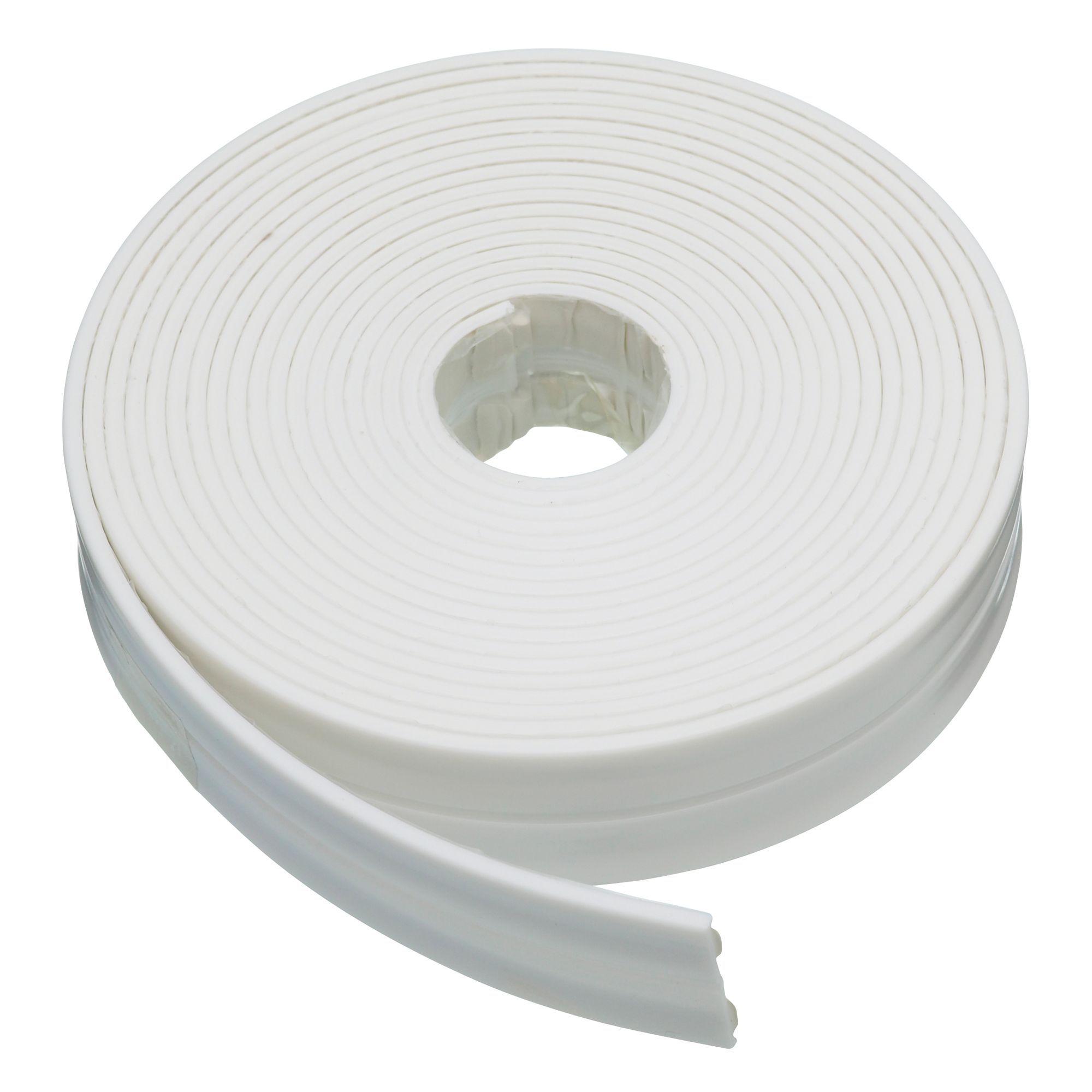 Homelux White Flexible Bath Seal L 3500mm Departments