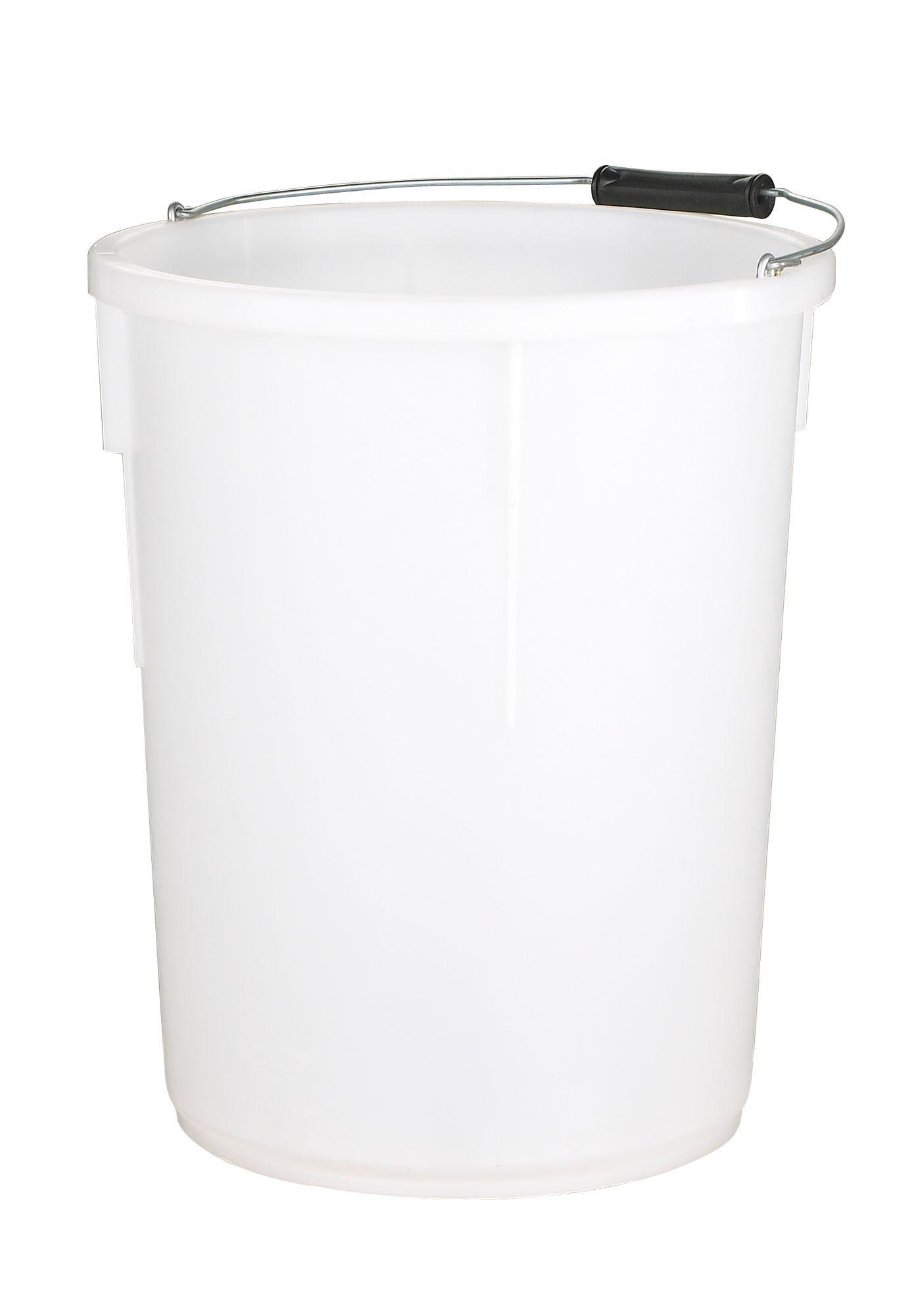 Active White Plastic 30000 Ml Plasterers Mixing Bucket