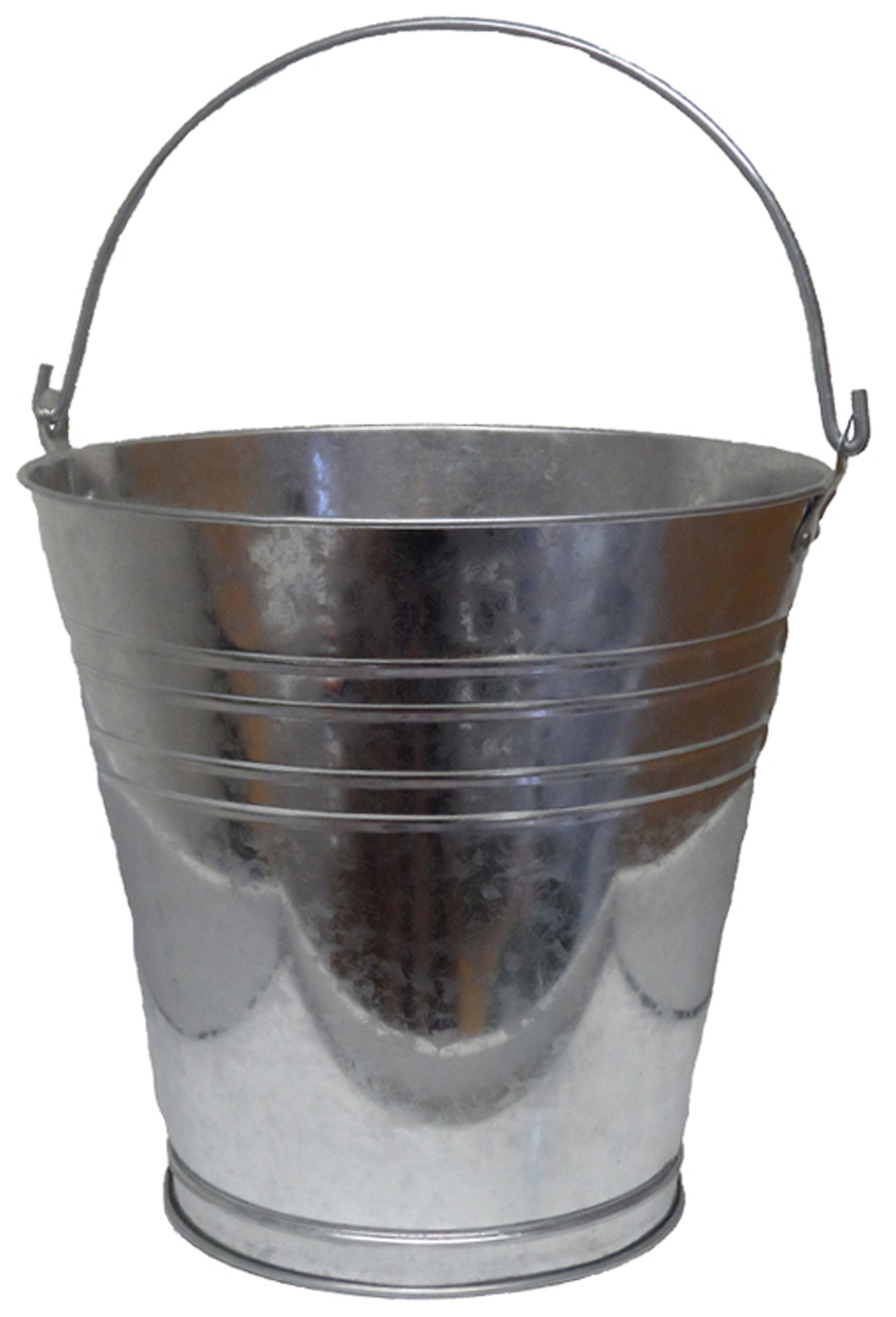 Active Steel 14000 Ml Bucket Departments Diy At B Amp Q