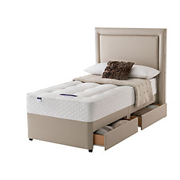 Silentnight Ortho Single 2 drawer Divan bed