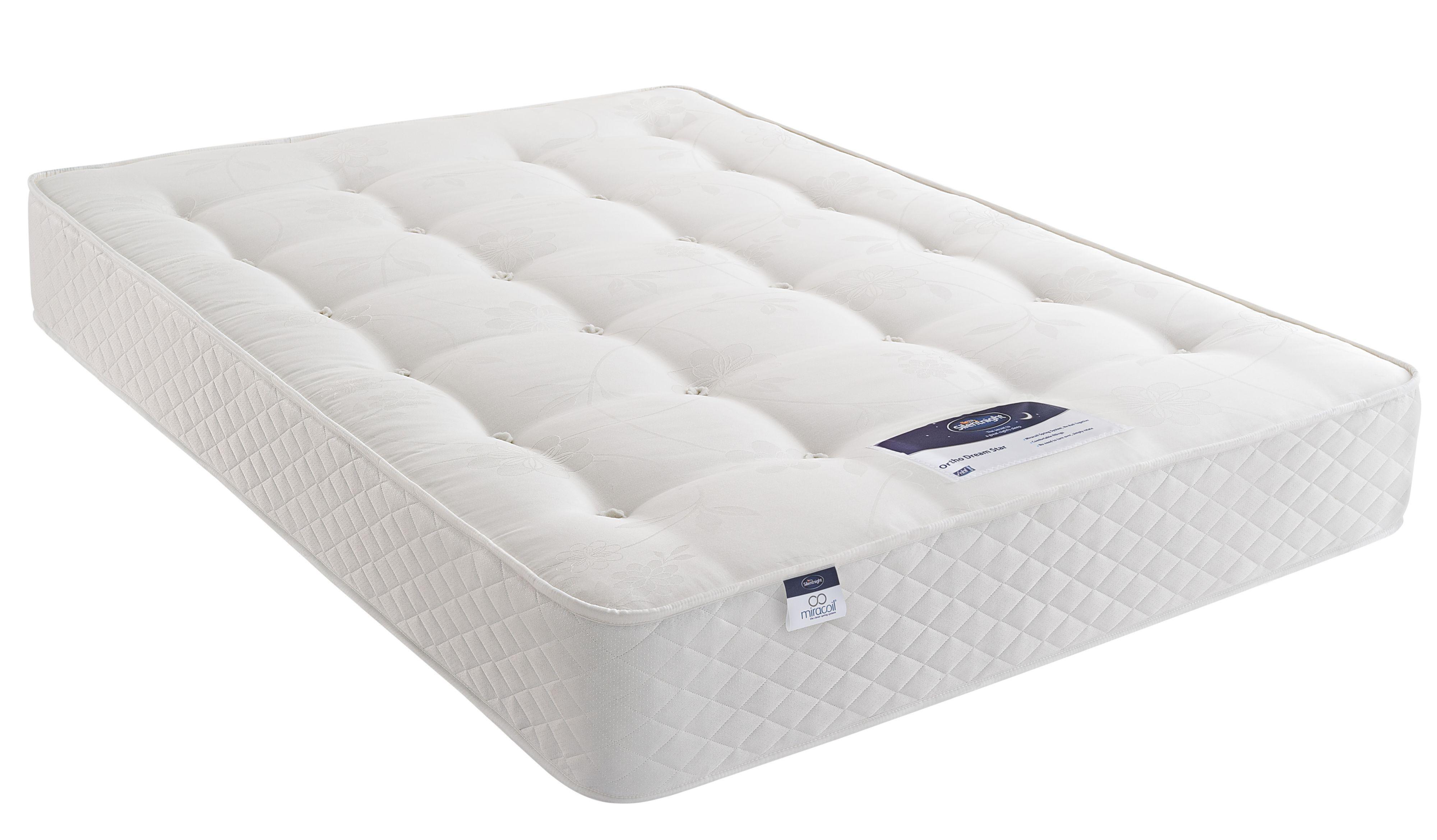 silentnight miracoil king size mattress departments. Black Bedroom Furniture Sets. Home Design Ideas