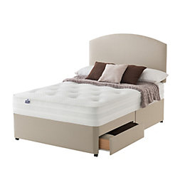 Silentnight Lux King Size Divan 2-Drawer Bed Set