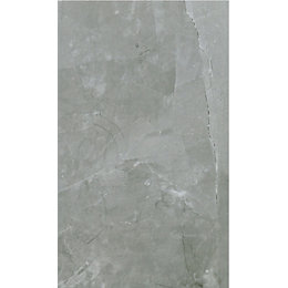 Arlington Silver Marble stone effect Ceramic Wall &