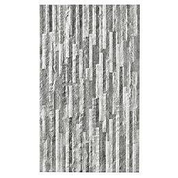 Oscano Graphite & pebble Satin Splitface Ceramic Wall