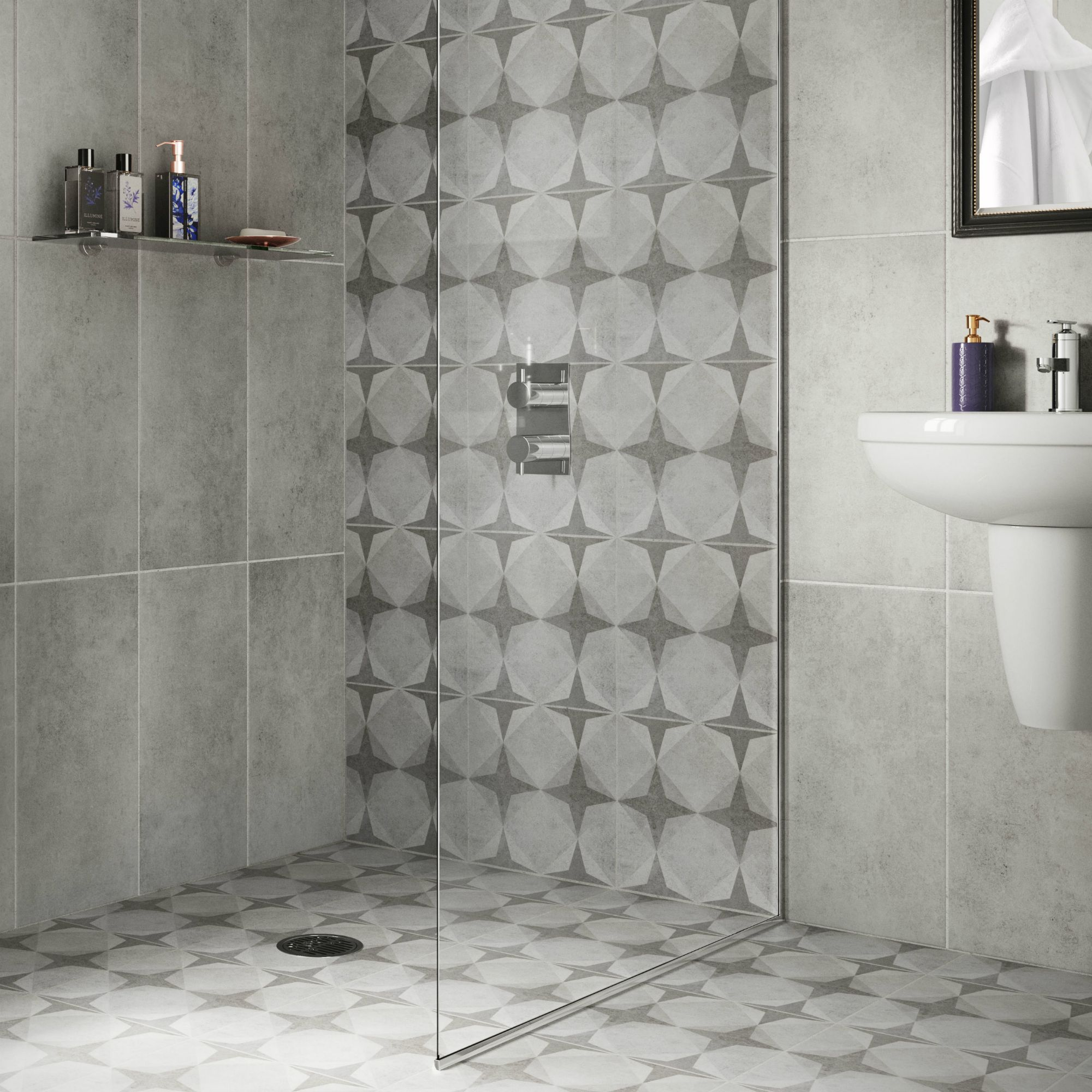 B And Q Bathroom Wall Tiles - Bathroom Design Ideas