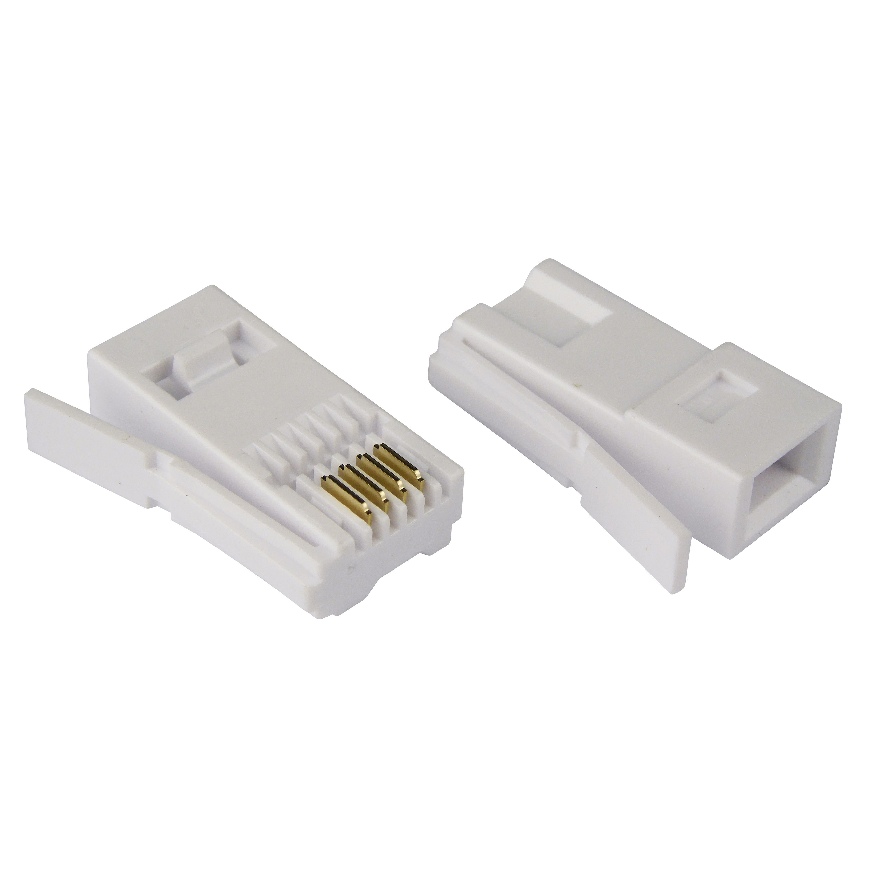Tristar Beige 431a Connector Pack Of 10 Departments Diy At Bq Wiring Openreach Box