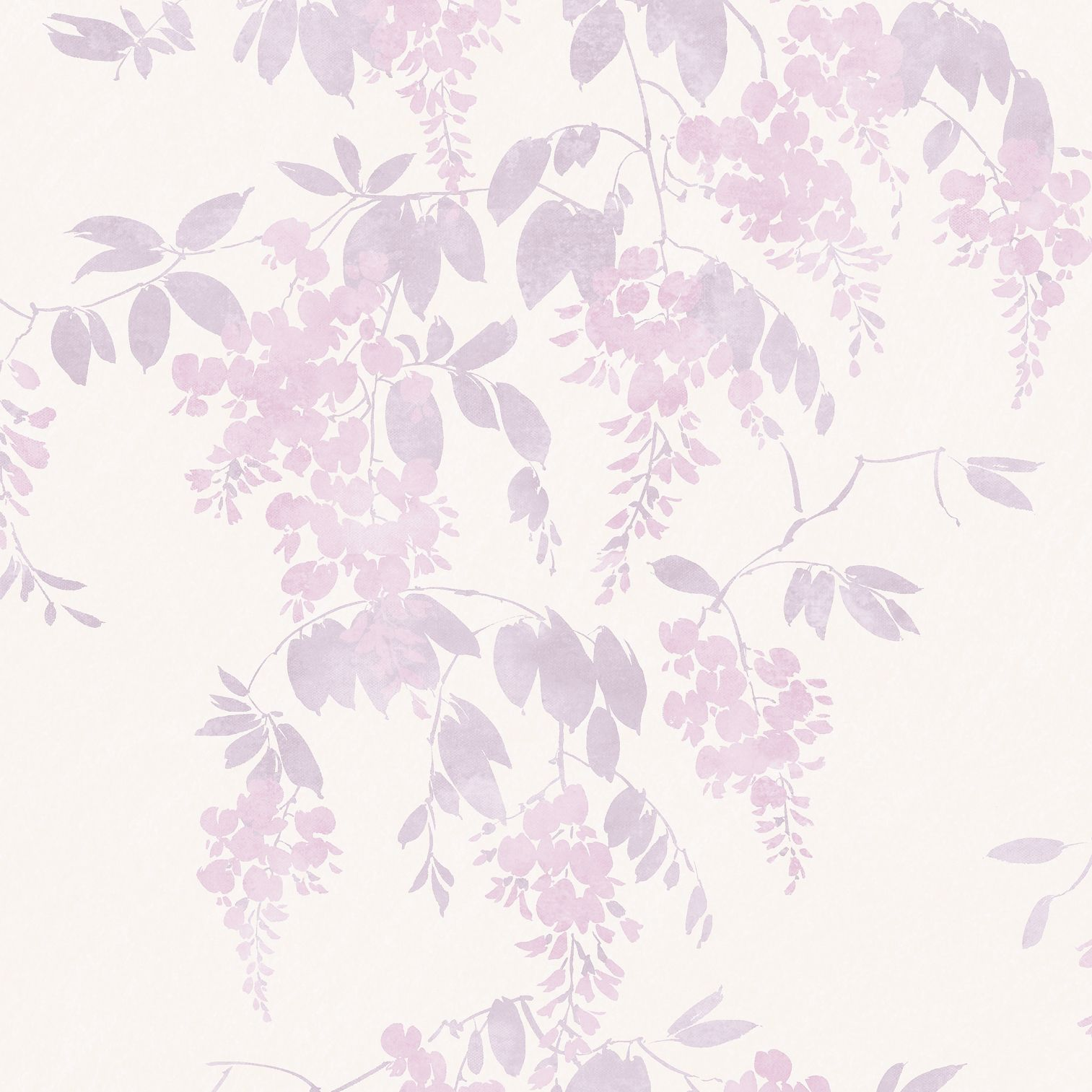 Kitchen Wallpaper B And Q: Arthouse Eco Wisteria Lilac Floral Wallpaper