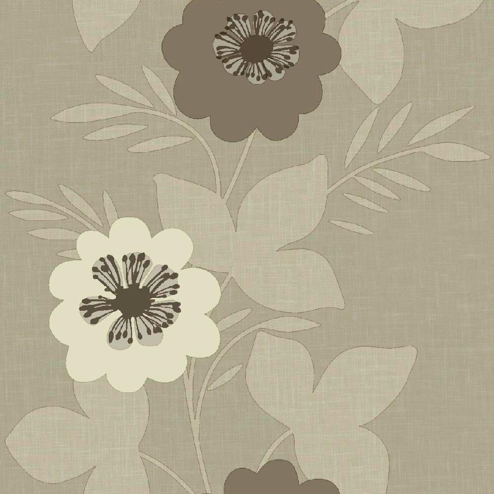 Arthouse Bloom Border Beige & cream Floral Wallpaper ...
