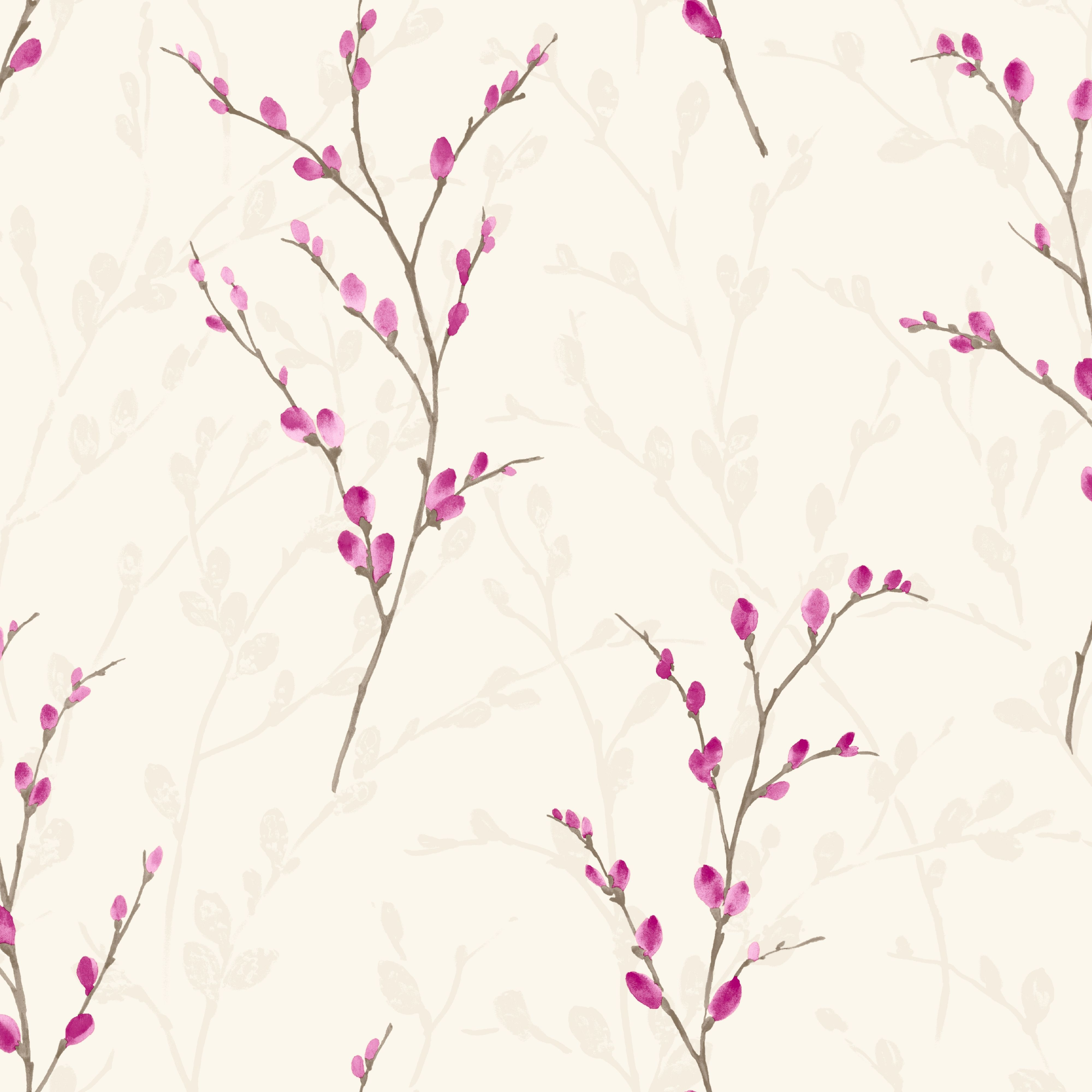 Arthouse Eco Willow Plum Blossom Wallpaper Departments