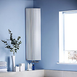 Jaga Iguana Circo Vertical Radiator White (H)1800 mm