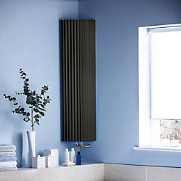 Jaga Iguana Circo Vertical Radiator Anthracite (H)1800 mm