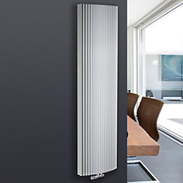 Jaga Iguana Arco Vertical Radiator White (H)1800 mm