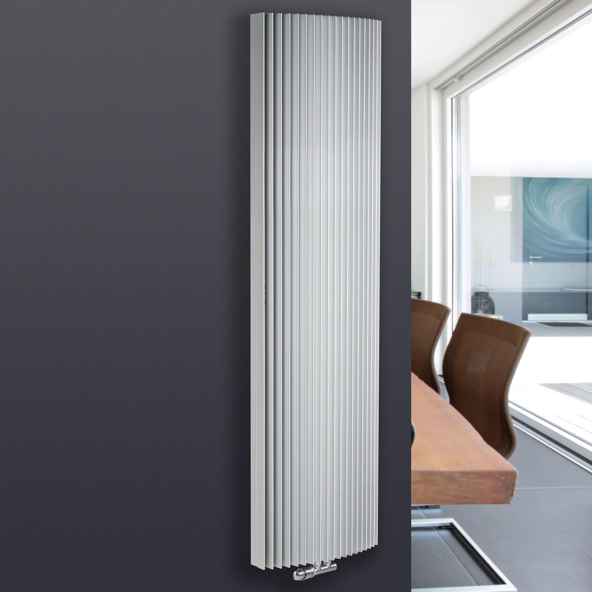 Jaga Iguana Arco Vertical Radiator White (H)1800 mm