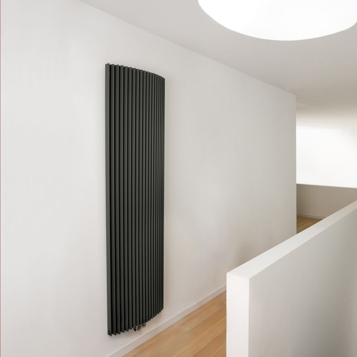 Jaga Iguana Arco Vertical Radiator Anthracite (H)1800 mm
