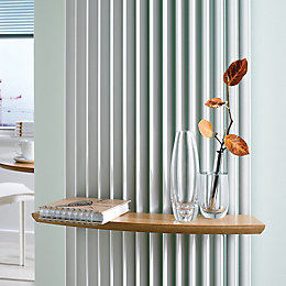 Jaga Beech Effect Radiator Shelf (W)480mm (D)100mm
