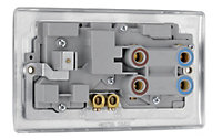 Nexus 45A Double pole Cooker switch & socket with 13 A switch socket