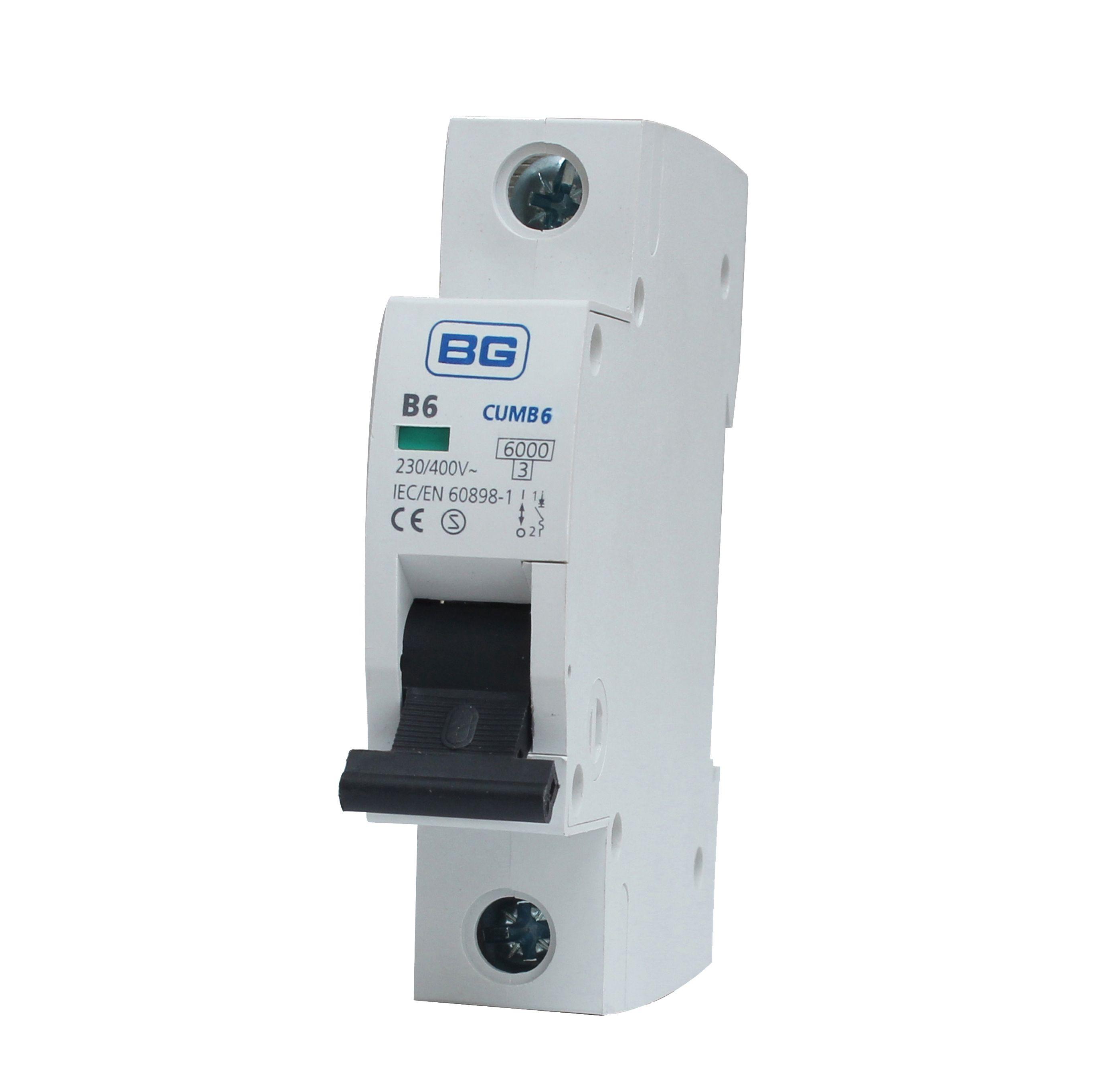 Bg 6a Mcb Miniature Circuit Breaker Departments Diy At Bq Wiring Accessories