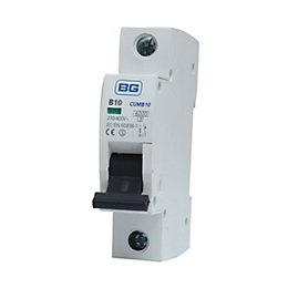 BG 10A MCB (Miniature Circuit Breaker)