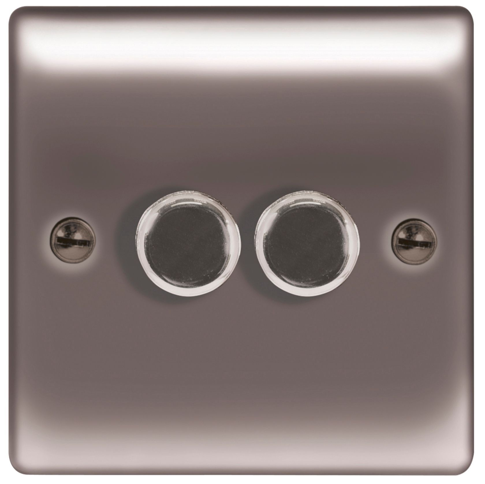 british general 2 way double black nickel dimmer switch rh diy com Fused Disconnect Switch Fused Lighted Rocker Switch