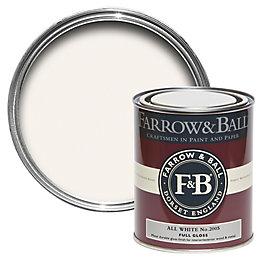 Farrow & Ball Interior & Exterior All White