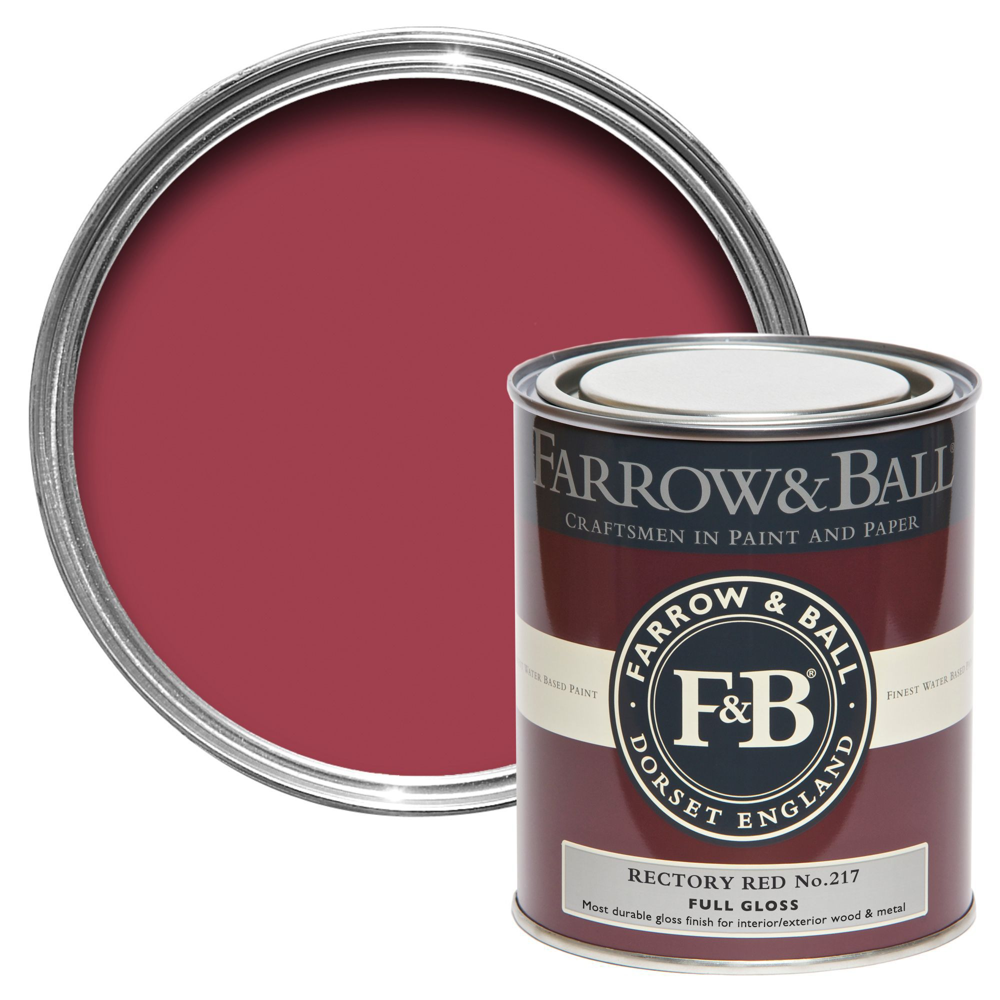 Farrow & Ball Interior & Exterior Rectory Red No217 Gloss
