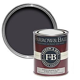 Farrow & Ball Paean black no.294 Gloss Paint