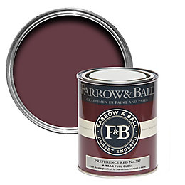 Farrow & Ball Preference red no.297 Gloss Paint