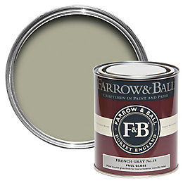 Farrow & Ball French Gray no.18 Gloss paint