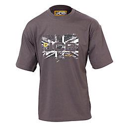 JCB Grey Heritage T-Shirt Extra Large