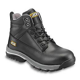 JCB Black Workmax Boots, Size 6