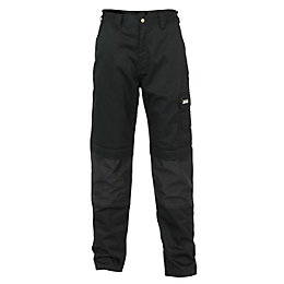 "JCB The Max Black Work trousers W32"" L32"""
