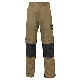 JCB The Max Black Work trousers W32 L32