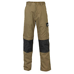 "JCB The Max Black Work trousers W34"" L32"""