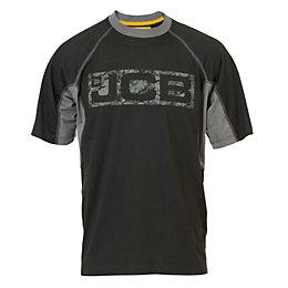 JCB Black Trentham T-Shirt XXL