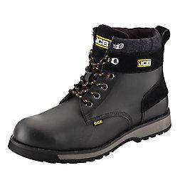 JCB Black 5Cx Boots, Size 12
