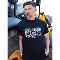 JCB Black Heritage T-Shirt Extra large